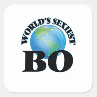 La BO la plus sexy du monde Sticker Carré
