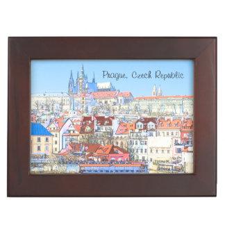 La boîte-cadeau estivale de Prague Boîte À Souvenirs