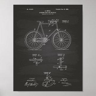 La boîte de direction va à vélo le tableau d'art