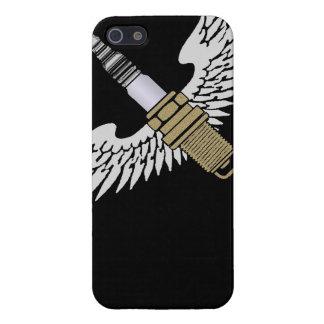 la bougie d allumage avec des ailes refroidissent iPhone 5 case
