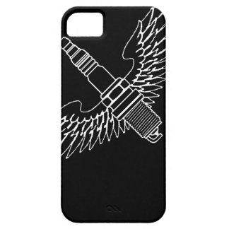 la bougie d'allumage avec des ailes refroidissent étui iPhone 5