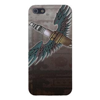 la bougie d'allumage avec des ailes refroidissent  iPhone 5 case