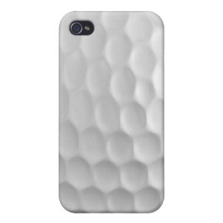 La boule de golf Iphone 4/4S Shell dur tachettent  Étui iPhone 4/4S