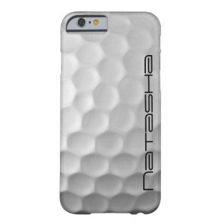 La boule de golf personnalisée embrève le motif de coque barely there iPhone 6