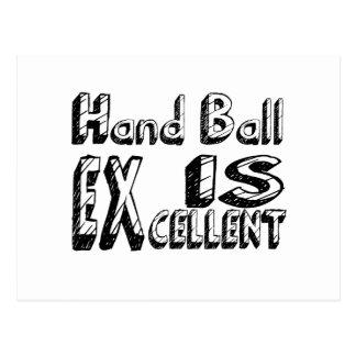 La boule de main est excellente carte postale