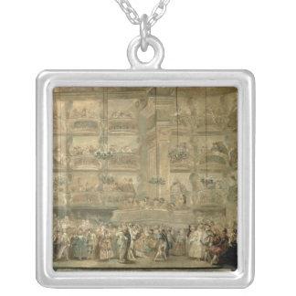 La boule masquée, c.1767 pendentif carré