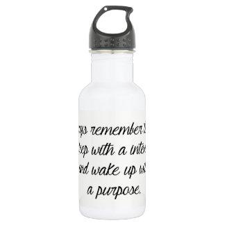 la bouteille d'eau d'acier inoxydable se
