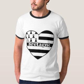 La Bretagne à mon coeur T-shirts