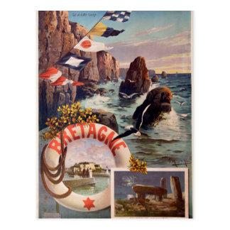 La Bretagne - en Mer la Bretagne d'Ile de belle Cartes Postales