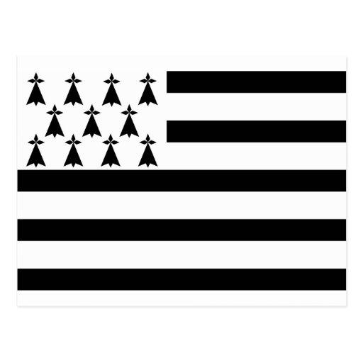 La Bretagne, la nation celtique de Breizh Carte Postale