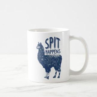 La broche se produit tasse de café du lama |