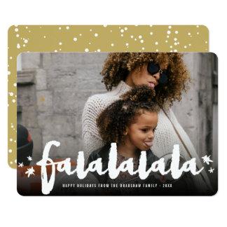La brosse de Falalalala tient le premier rôle le Carton D'invitation 12,7 Cm X 17,78 Cm