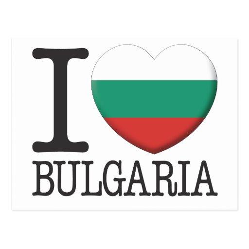 La Bulgarie Carte Postale