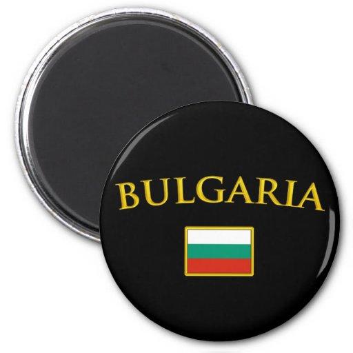 La Bulgarie d'or Magnets Pour Réfrigérateur
