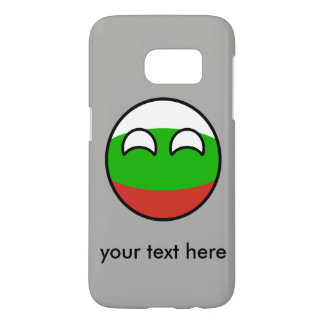 La Bulgarie Geeky tendante drôle Countryball Coque Samsung Galaxy S7