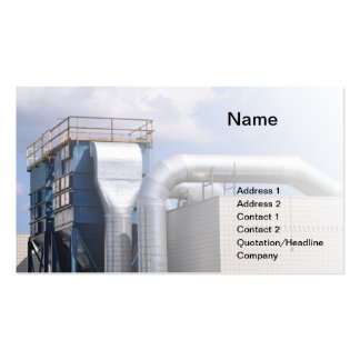 la CAHT ou matériel de réfrigération Carte De Visite