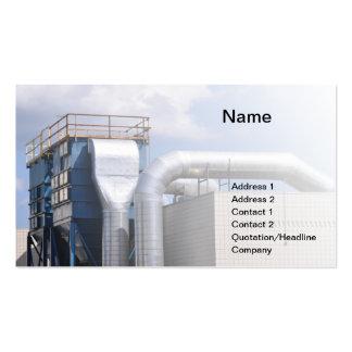 la CAHT ou matériel de réfrigération Carte De Visite Standard