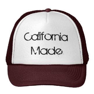 La Californie a fait, casquette de camionneur
