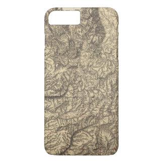 La Californie et le Nevada 4 Coque iPhone 8 Plus/7 Plus