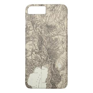 La Californie et le Nevada Coque iPhone 7 Plus