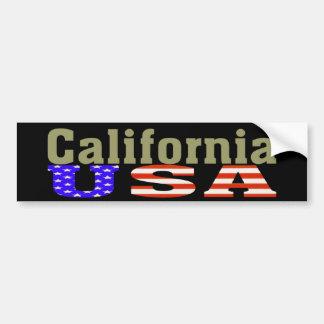 La Californie Etats-Unis Adhésif pour pare-chocs Adhésif Pour Voiture