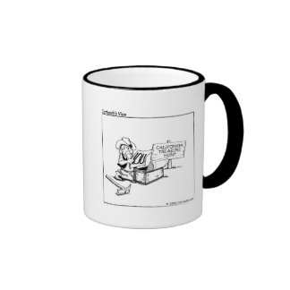 La Californie peut publier I.O.U. Mug Ringer