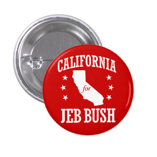 LA CALIFORNIE POUR JEB BUSH PIN'S