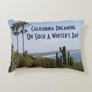 La Californie rêvant le coussin d'accent