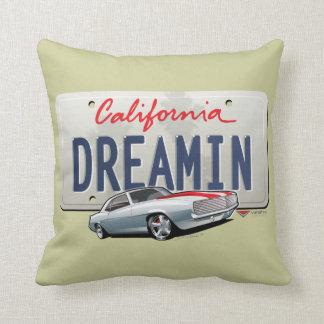 La Californie rêvant le coussin de Camaro