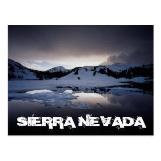 La Californie, sierra montagnes de Nevada 13 Cartes Postales