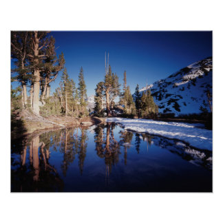 La Californie, sierra montagnes de Nevada 2 Poster