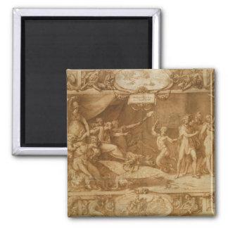 La calomnie d'Apelles, 1572 Magnet Carré