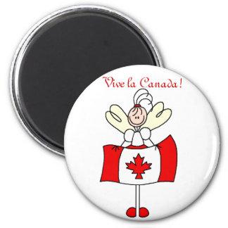 La Canada de Vive ! Magnet Rond 8 Cm