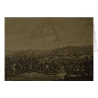 La capitulation d'Ulm en octobre 1805 Carte De Vœux