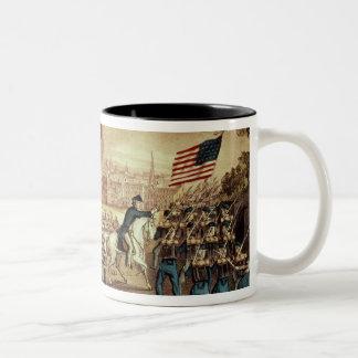 La capture d'Atlanta par l'armée des syndicats Mug Bicolore