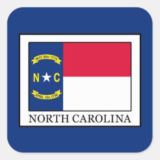 La Caroline du Nord Sticker Carré