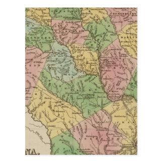 La Caroline du Sud 2 Carte Postale