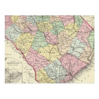 La Caroline du Sud 5 Carte Postale