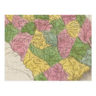 La Caroline du Sud 6 Carte Postale