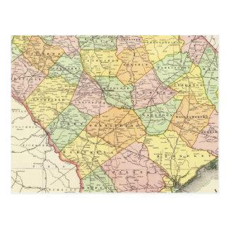 La Caroline du Sud 7 Carte Postale