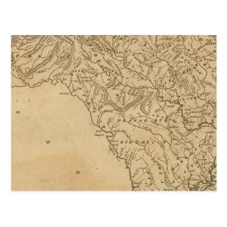 La Caroline du Sud Carte Postale