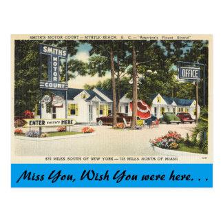 La Caroline du Sud, cour du moteur de Smith, Carte Postale
