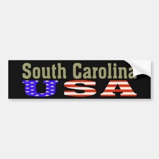 La Caroline du Sud Etats-Unis Adhésif pour pare- Adhésif Pour Voiture
