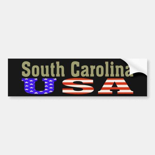 La Caroline du Sud Etats-Unis ! Adhésif pour pare- Adhésif Pour Voiture