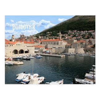 la carte de lettre pour Dubrovnik, la Croatie Cartes Postales