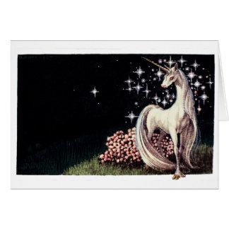 La carte de note de licorne
