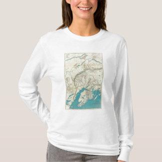 La carte de Sleem de l'Alaska central T-shirt