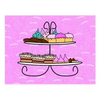 la carte de souhait - la soirée Girls - Tea drogué Cartes Postales