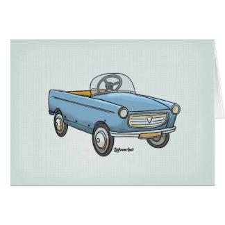 La carte de souhait leuke Peugeot 404 vintage