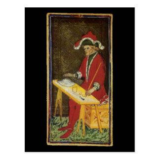La carte de tarot de magicien